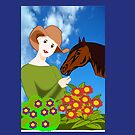 Love for Horses (3333 Views) by aldona