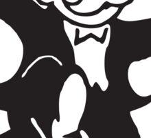 Monopoly Devil Sticker