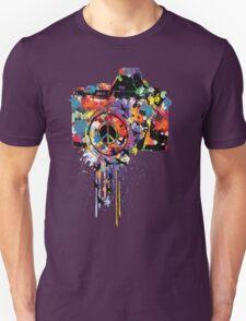 Paint DSLR T-Shirt