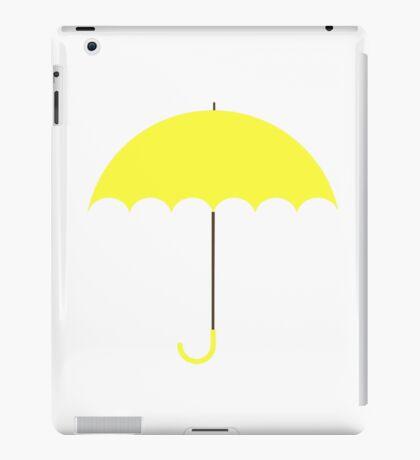 Yellow Umbrella (HIMYM) iPad Case/Skin