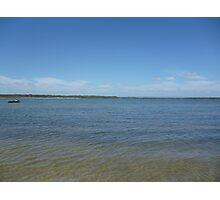 Beach Blue Photographic Print
