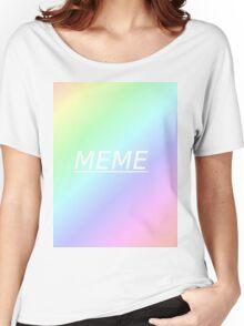 Meme Aesthetic Women's Relaxed Fit T-Shirt