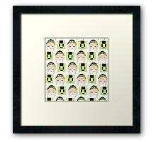 Noiz Cube Noiz Framed Print
