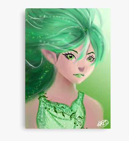 Forest Elf Canvas Print