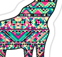 Tribal Giraffe Sticker