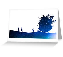 Quiet Feelings - Howl's Moving Castle Greeting Card