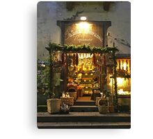 Sorrento's Shop Canvas Print