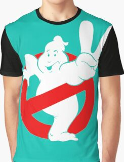 "Piss "" Ghost Buster "" Graphic T-Shirt"