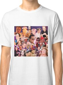 Steve Buscemi Galaxy Collage Classic T-Shirt
