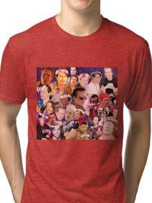 Steve Buscemi Galaxy Collage Tri-blend T-Shirt