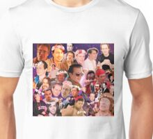 Steve Buscemi Galaxy Collage Unisex T-Shirt