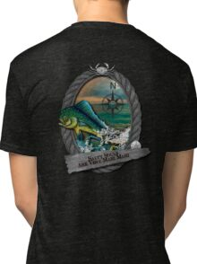 Salty Souls Are Very Mahi Mahi Tri-blend T-Shirt