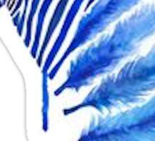 Tumblr Watercolor Zebra Sticker