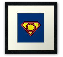 O Superman Framed Print