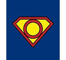 O Superman Photographic Print