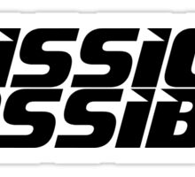 Mission imossible Movie T-Shirt Sticker