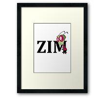 Invader ZIM  Framed Print