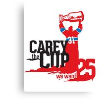 Carey The Cup Canvas Print