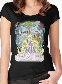 Mavis - The Fairy Heart Women's Fitted Scoop T-Shirt