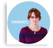 Sharkfarts. Canvas Print