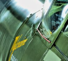 Spitfire  MH434 - OFMC`s Christmas Card 2011  Sticker