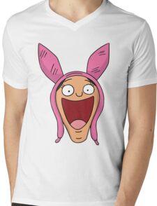 Louise Belcher Mens V-Neck T-Shirt