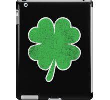 Vintage Four Leaf Clover  iPad Case/Skin