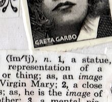 Image-Greta Garbo Sticker