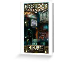 Bioshock 2 : Miverva's Den  Greeting Card