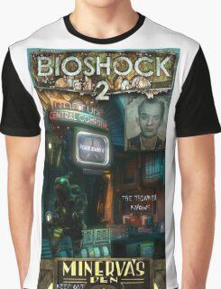 Bioshock 2 : Miverva's Den  Graphic T-Shirt