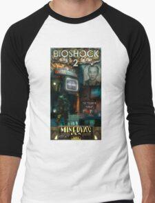 Bioshock 2 : Miverva's Den  Men's Baseball ¾ T-Shirt