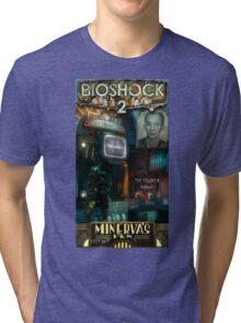 Bioshock 2 : Miverva's Den  Tri-blend T-Shirt