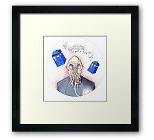 Doctor Who - Ood Framed Print