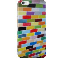 Coloured Bricks iPhone Case/Skin