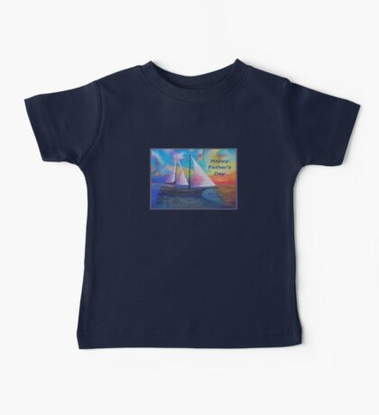 Happy Father's Day (Bodrum Gulet Cruise) Baby Tee