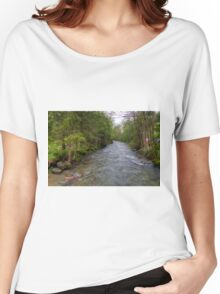 Spring meets winter in the Alps Women's Relaxed Fit T-Shirt