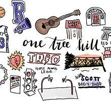 One Tree Hill icons by amandaspac
