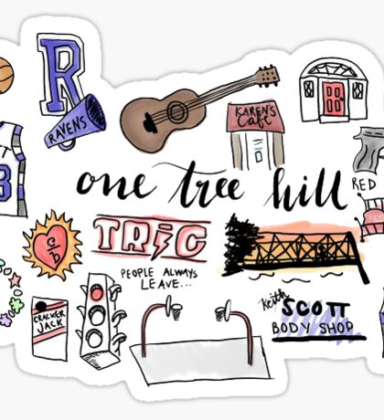 One Tree Hill icons Sticker