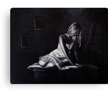 Heartbreak Pose Canvas Print