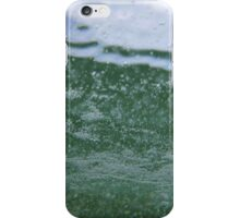The sea is green. iPhone Case/Skin