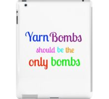 Yarn Bombs! iPad Case/Skin