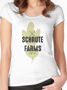 Schrute Farms Beet Co.- The Office Women's Fitted Scoop T-Shirt