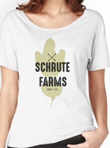 Schrute Farms Beet Co.- The Office Women's Relaxed Fit T-Shirt