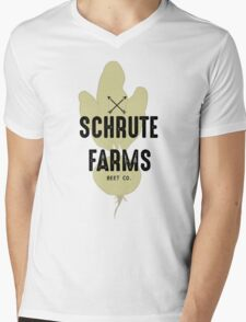 Schrute Farms Beet Co.- The Office Mens V-Neck T-Shirt