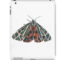 Red moth iPad Case/Skin