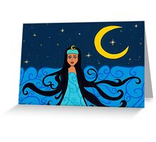 Yemanjá Iemanjá sea goddess Greeting Card