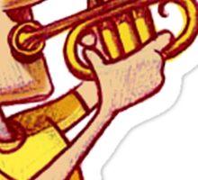 Blow that trumpet! Sticker