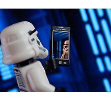 Stormtrooper Selfie Photographic Print