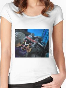 How the TARDIS Really Works Women's Fitted Scoop T-Shirt