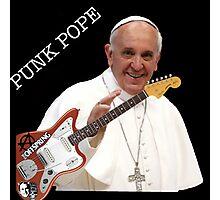 Punk Pope Photographic Print